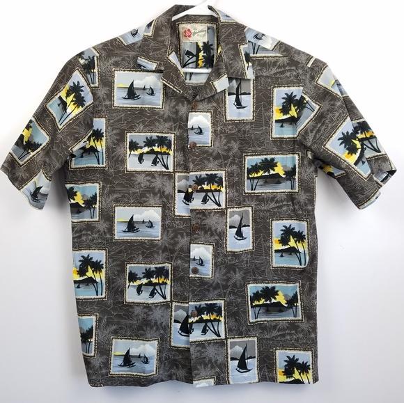 a936b0b5 Hilo Hattie Shirts | Aloha Hawaiian Shirt L Excellent | Poshmark